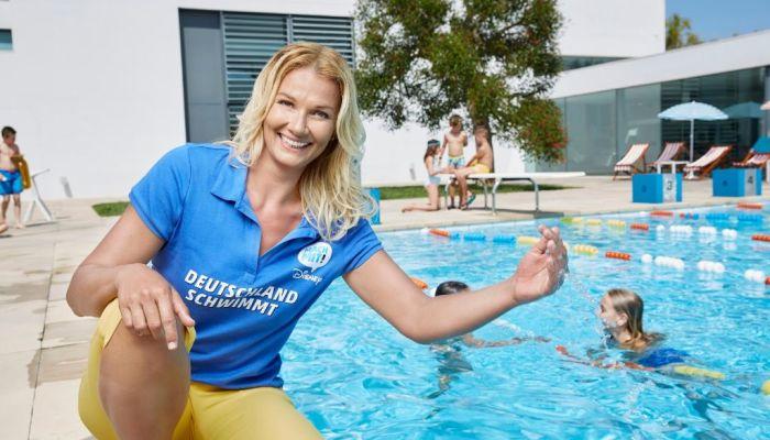 Aktion Schwimmen lernen – Deutschland schwimmt mit Disney!
