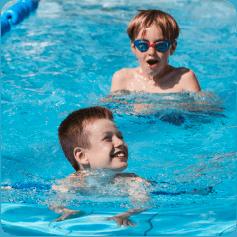 schwimmen lernen macht Spaß!