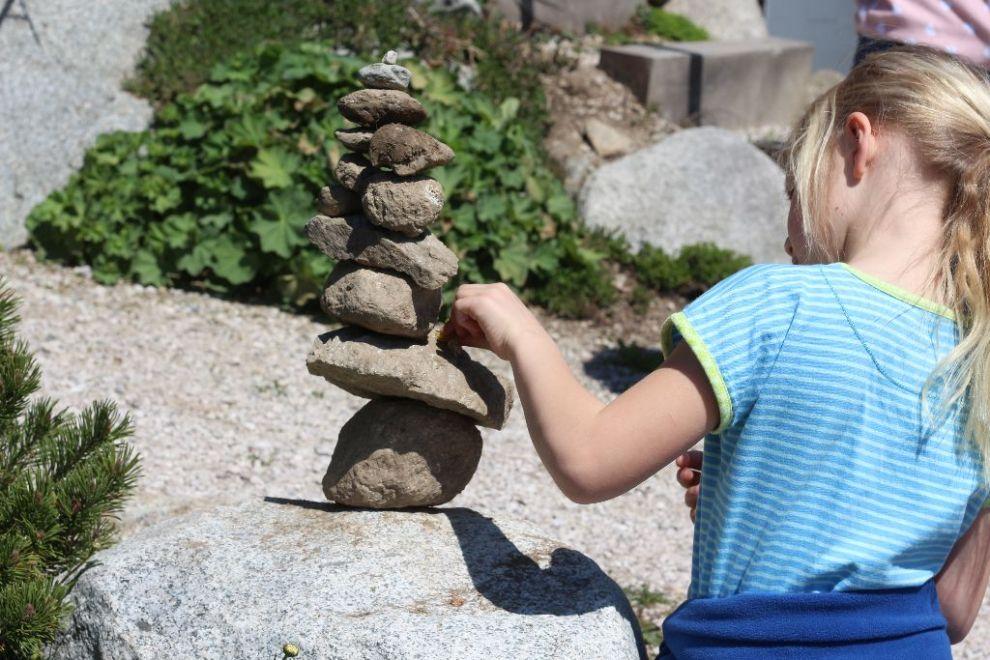 Steintürme in Südtirol - Stapeln und dann was wünschen