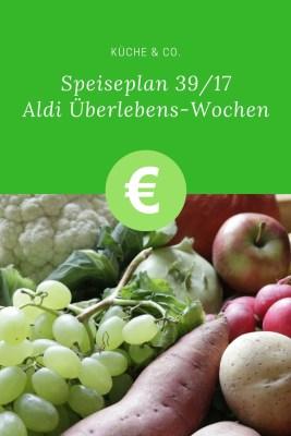 Aldi Einkauf und Speiseplan
