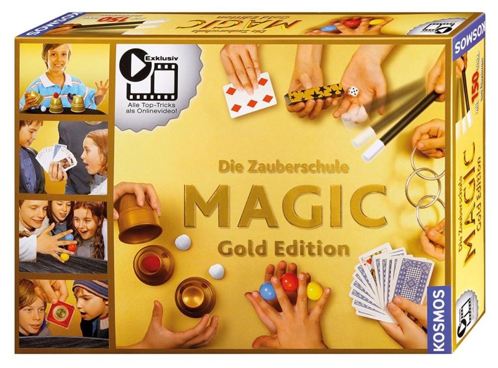 Packshot Magic Zauberschule Gold