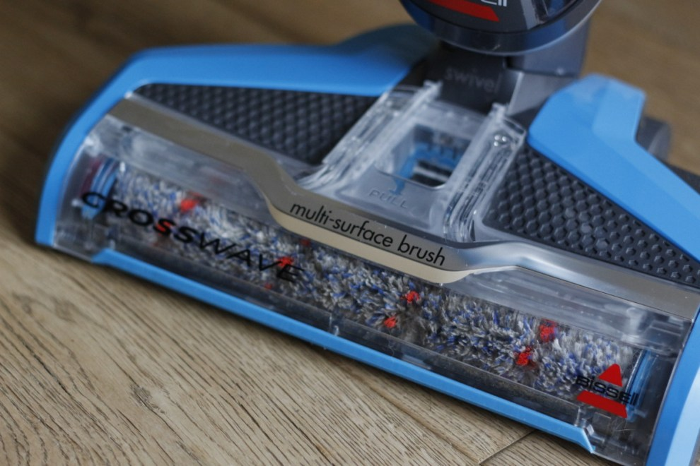 CrossWave Nass Trockensauger auf Holzboden