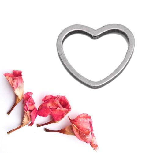 Herzkette (silber)