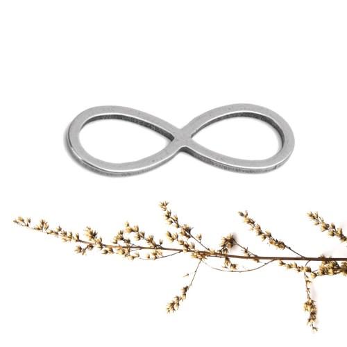 Infinitykette silber