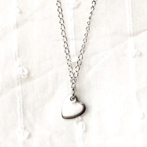 Herzchenkette (silber)