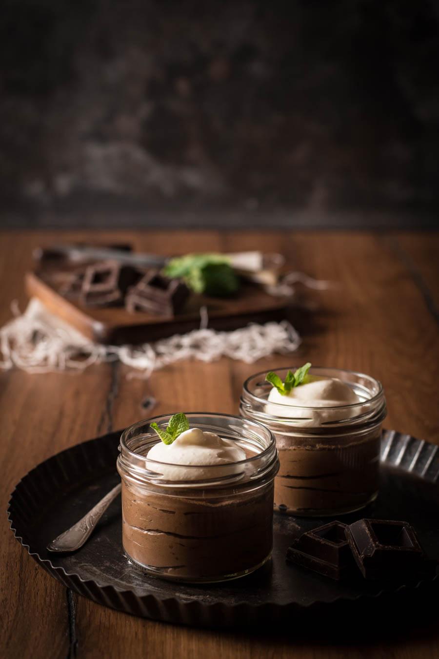 Mousse au chocolat Schokoladenmousse