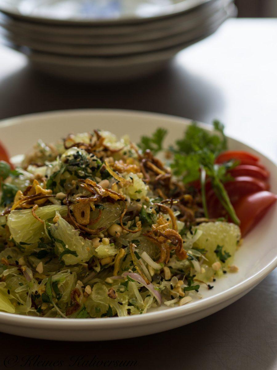 Burmesischer Pomelo Salat