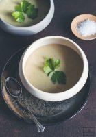 Cremige Pastinaken Lauch Suppe