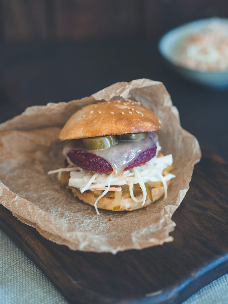 Rote Beete Burger Patty