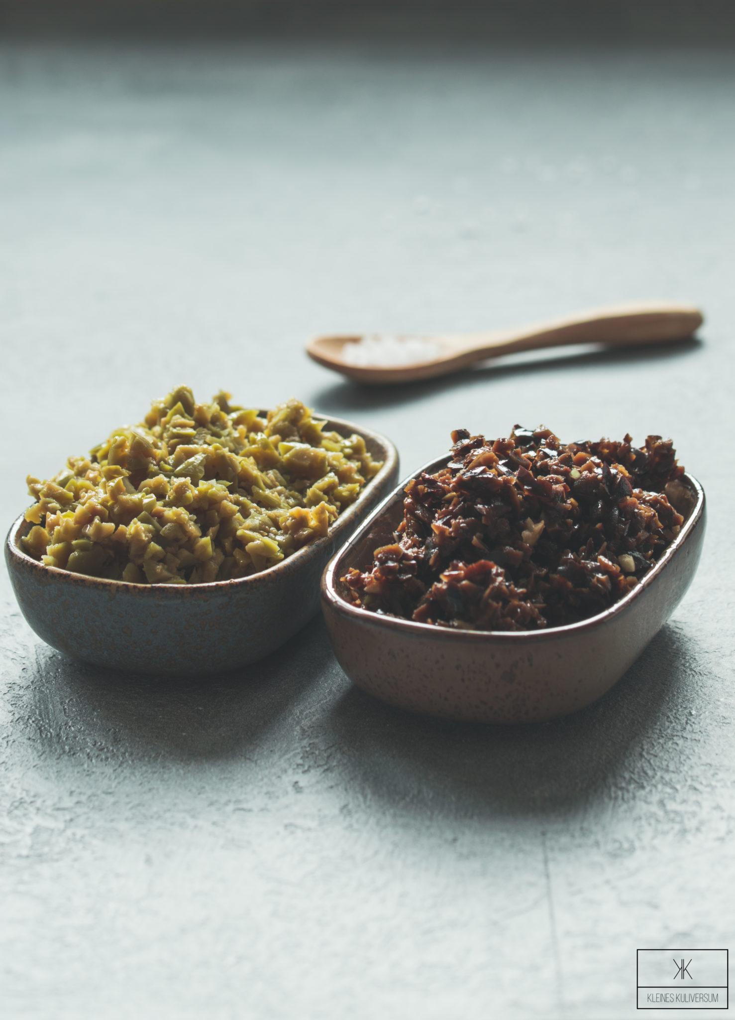 Zweierlei französische Oliventapenade - Kleines Kuliversum