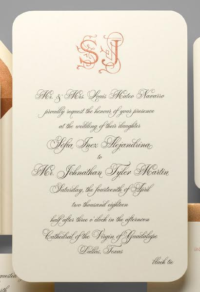 Wording Wedding Invitations In The Traditional Way