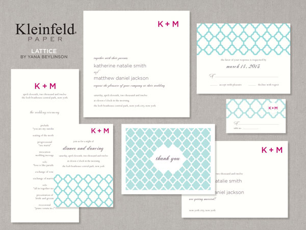 4 Features Of Modern Wedding Invitations