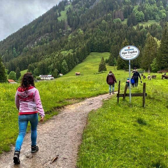 Wandern Alpe Topfen