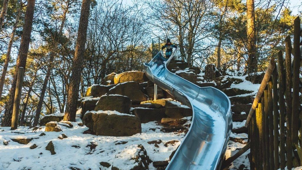 Hohe Loog Spielplatz Winter