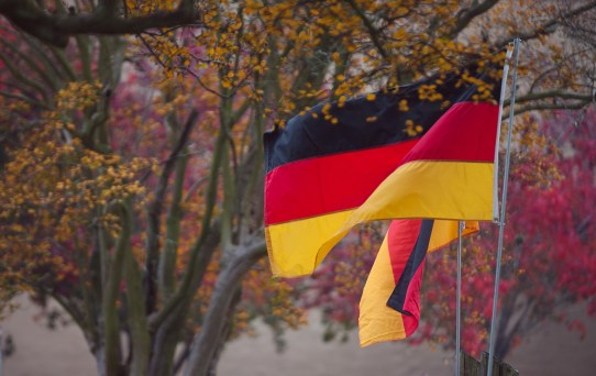german flags
