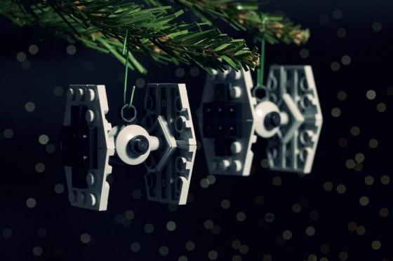 chris mcveigh lego star wars ornaments tie fighter