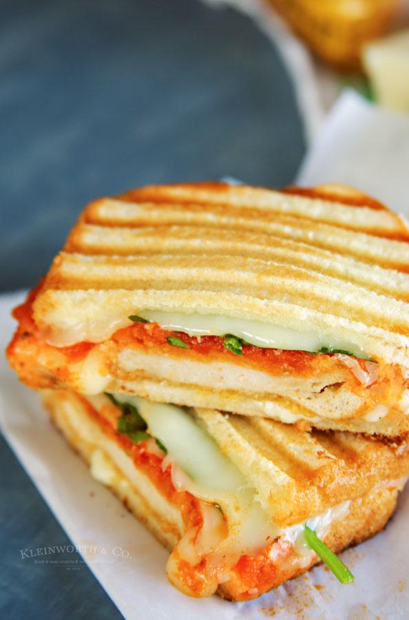 Chicken Grilled Cheese Sandwich