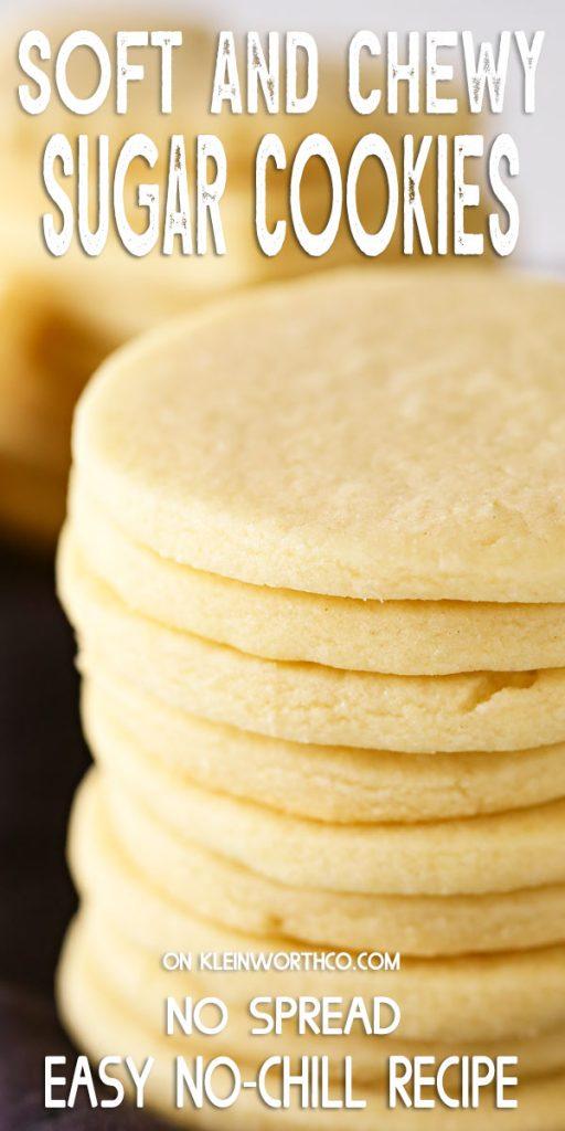 Easy Sugar Cookie Recipe Kleinworth Co