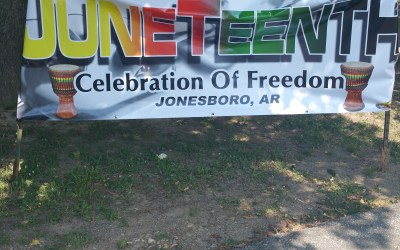 Photos and Audio from the KLEK 102.5 F.M. Juneteenth Celebration