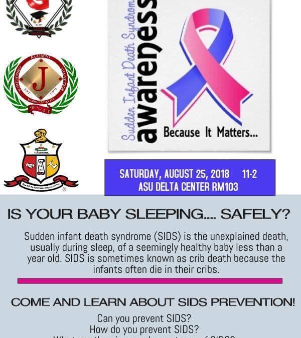 Jonesboro's SIDS Champion presents SIDS Awareness Seminar
