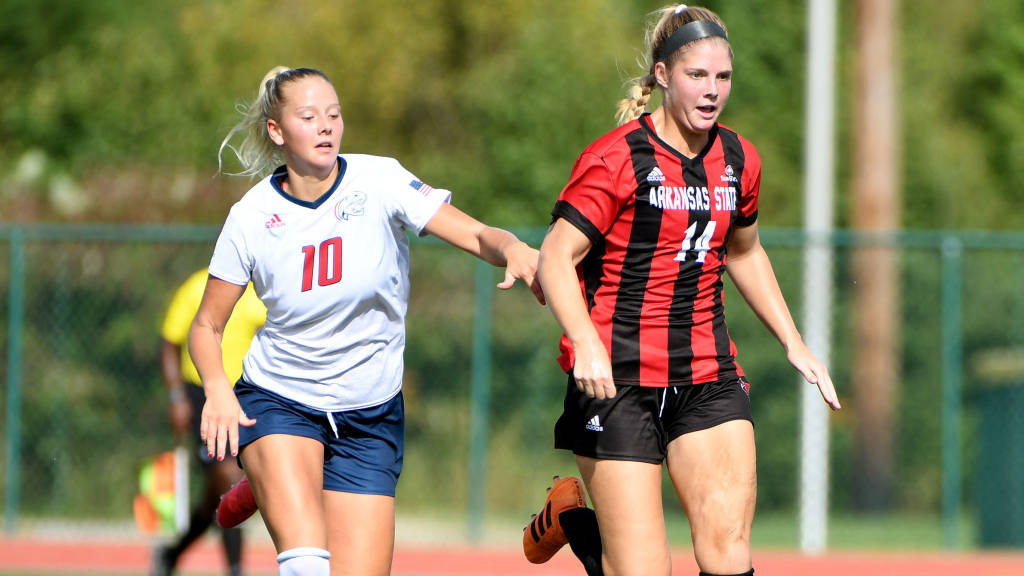 Ertl Scores Twice to Power A-State to Victory