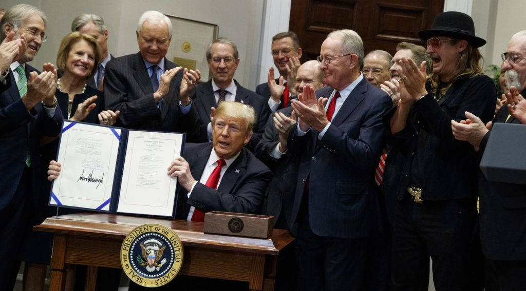 Music Modernization Act Signed Into Law