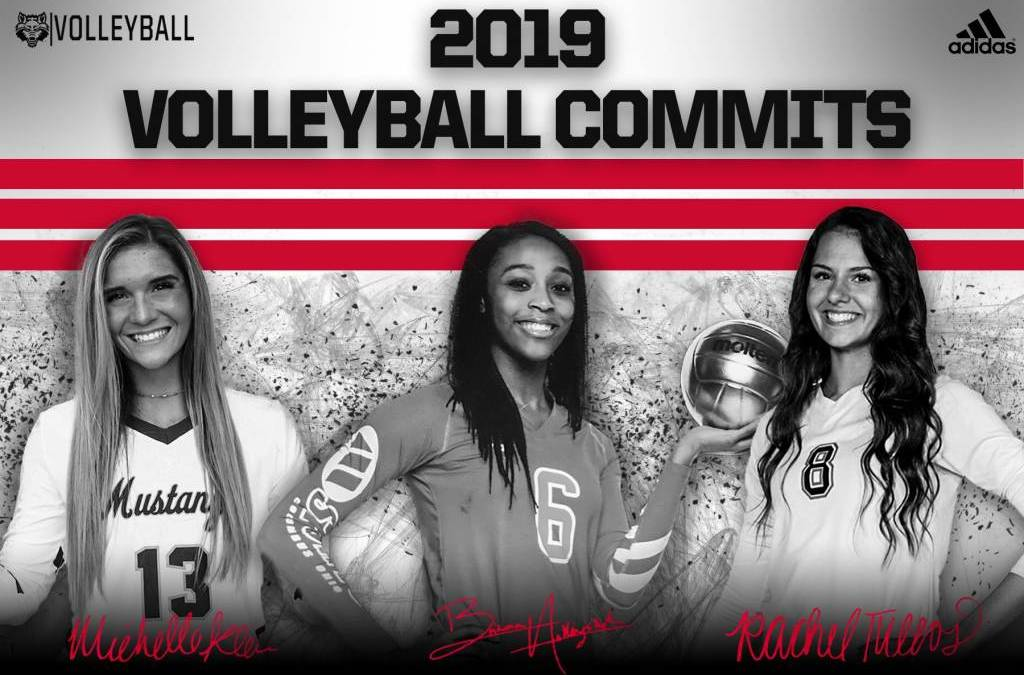 A-State Volleyball Adds Three in Early Period