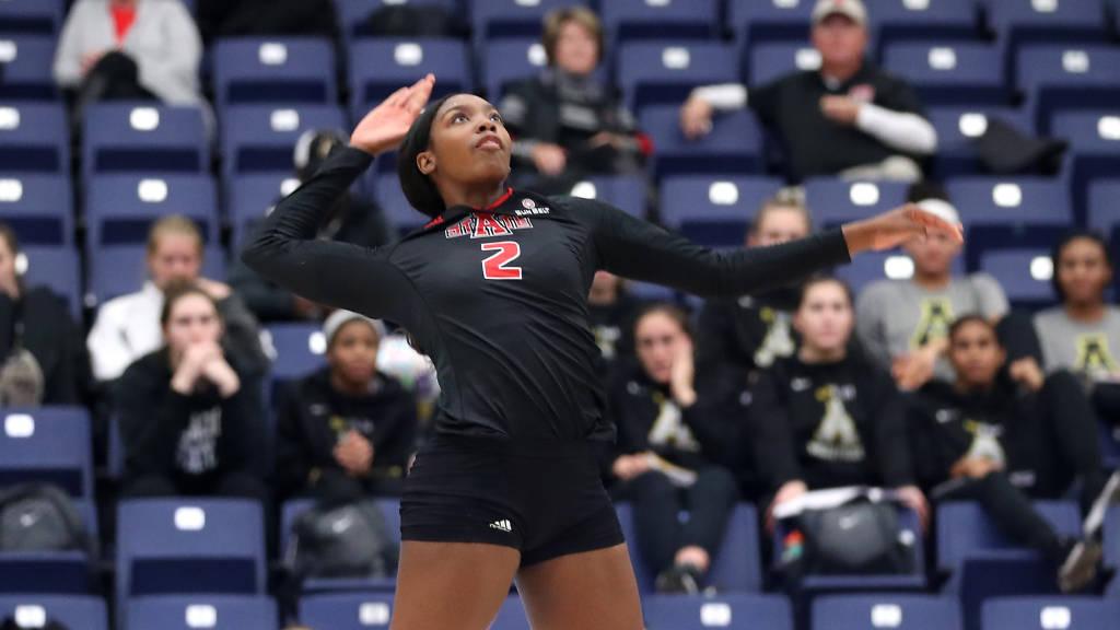 A-State Volleyball Defeats No. 3 Coastal Carolina