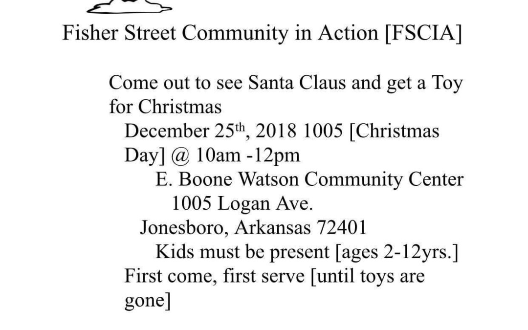 Christmas Day Toy Giveaway