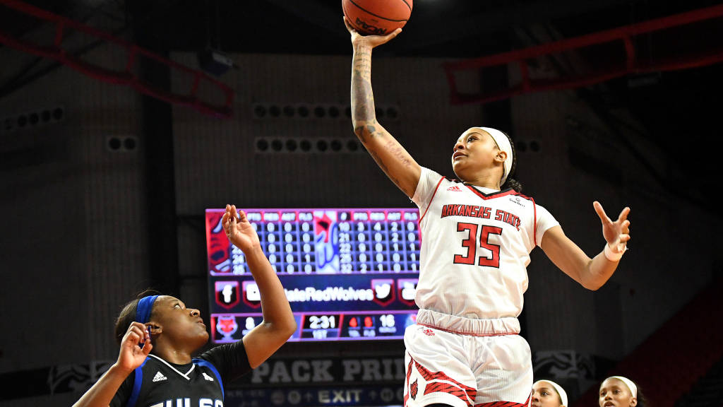 A-State Rallies From Down 16 to Top Tulsa