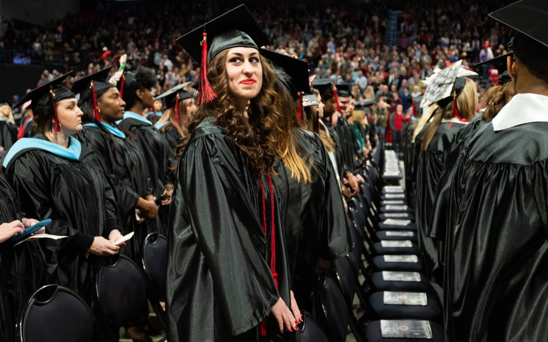 Chancellor Confers Record Number Degrees in Fall Ceremony