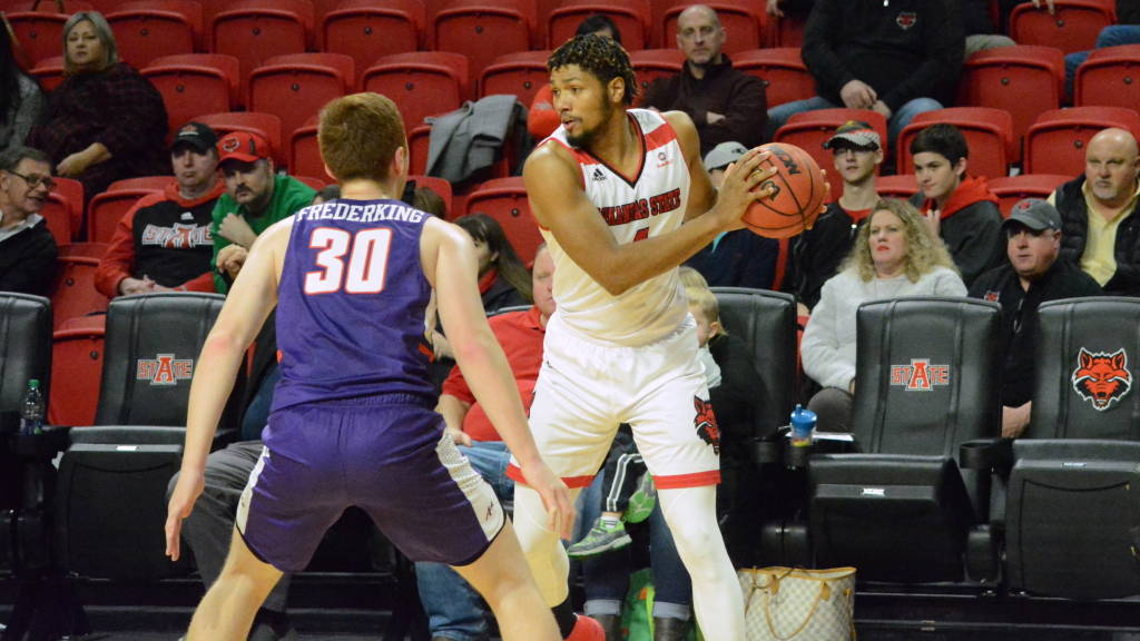 Strong Defense, Cockfield's 24 Points Leads A-State Past Evansville