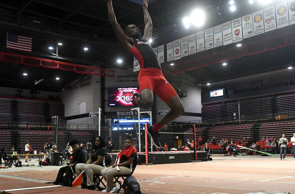 Red Wolves Set Five Meet Records at Samford Invite