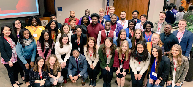 State's Greek Life Leaders Gather to Discuss Setting Standards