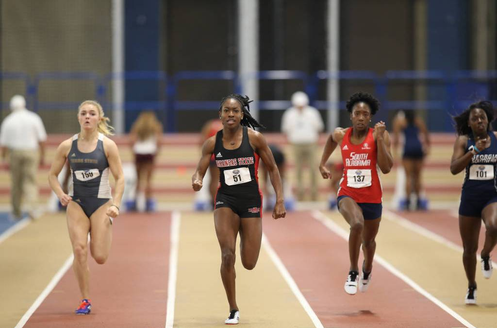 Red Wolves Begin Sun Belt Conference Indoor Championships With Strong Performances