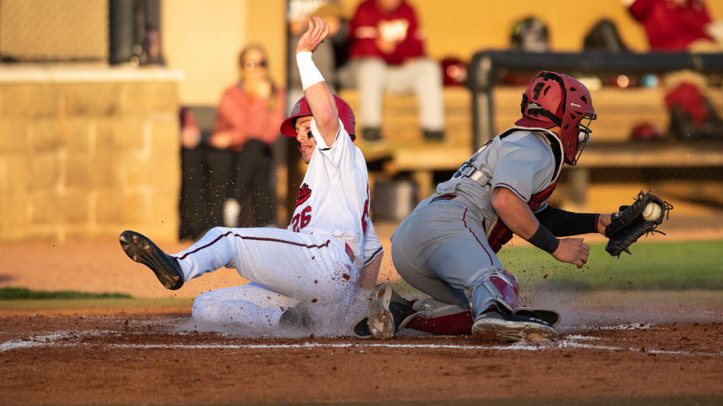 @AStateBaseball Claims 9-3 Win in Sun Belt Opener