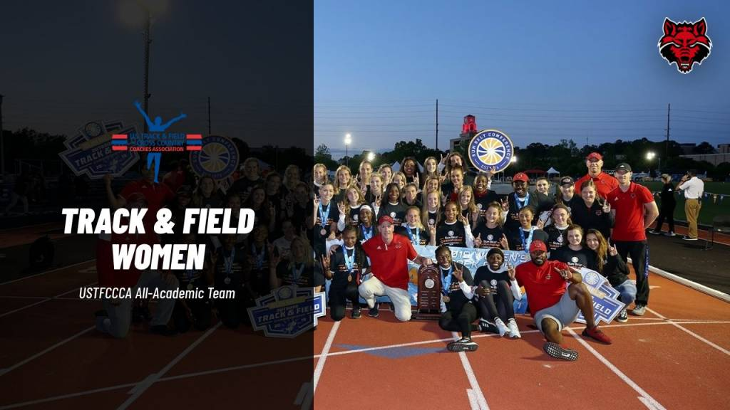 Red Wolves Recognized By USTFCCCA For Academic Success
