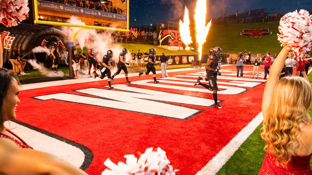 A-State Football Game at UNLV to Appear Live on Facebook