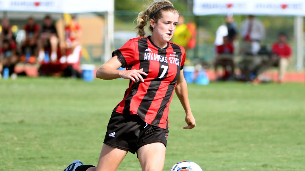 A-State Soccer Suffers First Setback of Season on the Road