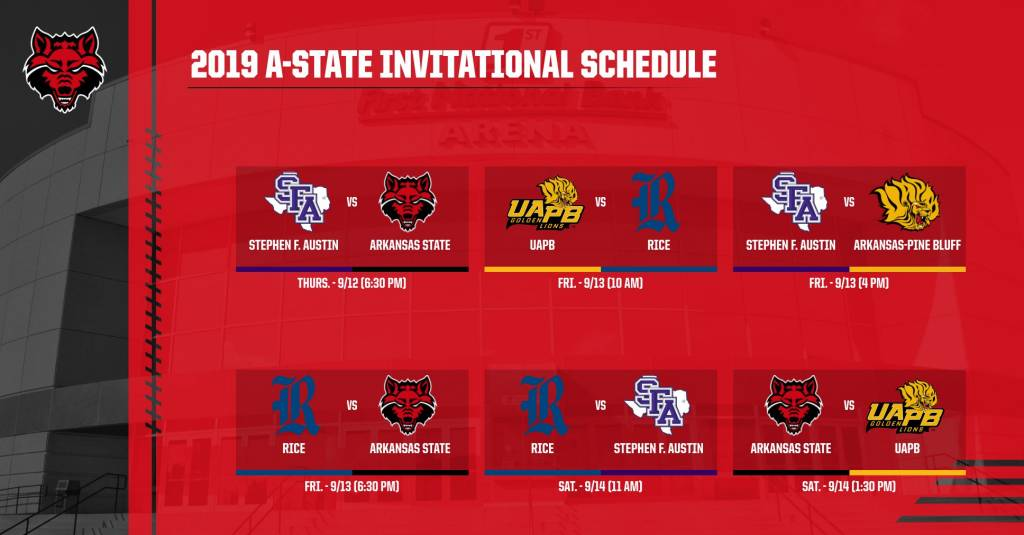 Preview: A-State Opens Home Slate Thursday Hosting A-State Invitational