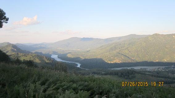 Прошлым летом я побывала на Алтае!