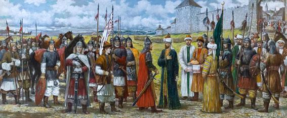 Русские фамилии булгаро-казанского и татарского происхождения