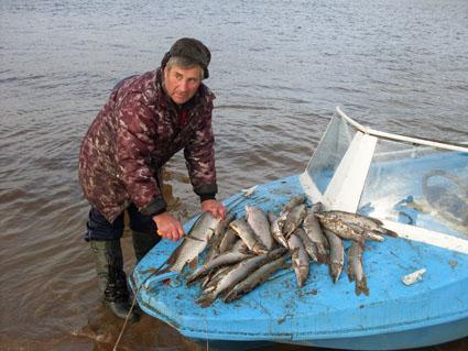 Рыбалка на р.Обь