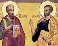 Праздник в честь первоверховных апостолов Петра и Павла в д.Талица