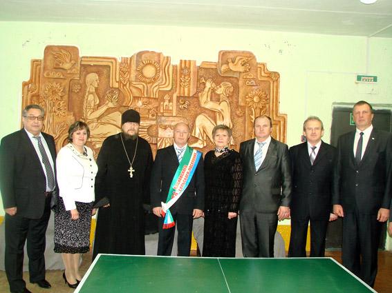 Вступление в должность Главы Кленовского поселения