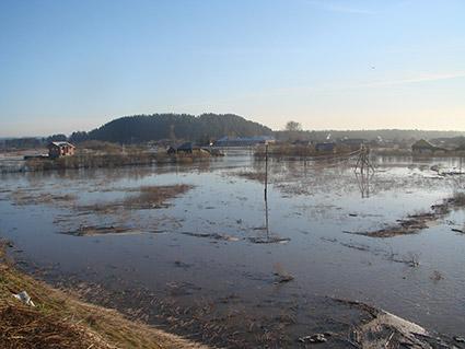 Наводнение в с.Кленовское 5.05.2014 года