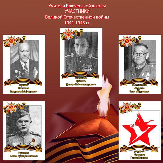 Об учителях -  ветеранах войны Ключевской школы