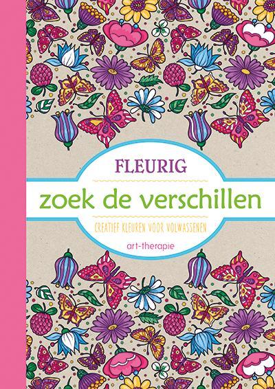 Kleurplaten Voor Volwassenen Op Reis.Fleurig Zoek De Verschillen Kleurboek Voor Volwassenen