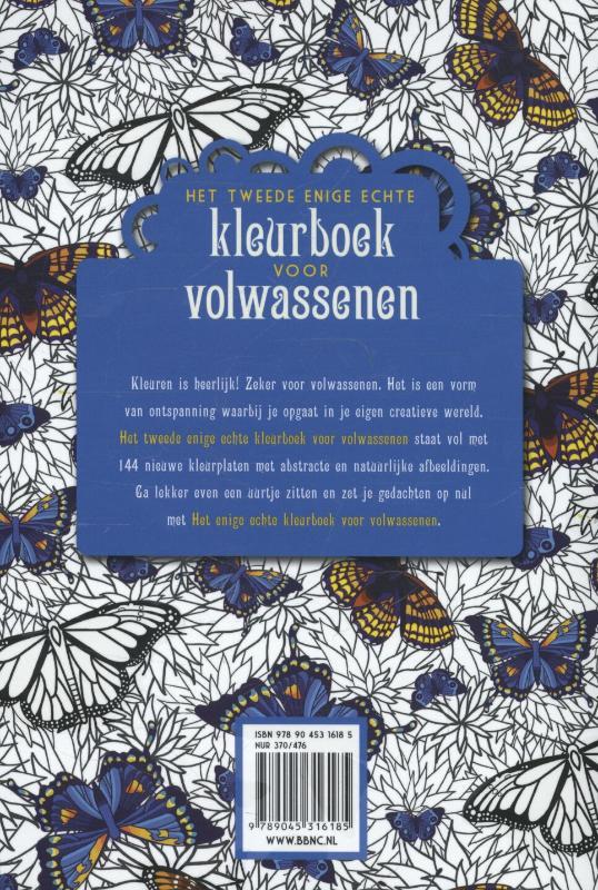 Nieuwe Kleurplaten Voor Volwassenen.Het Tweede Enige Echte Kleurboek Voor Volwassenen