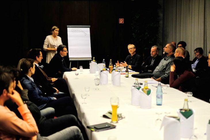 Sammelte Ideen und Visionen: Kaufhof-Geschäftsführerin Astrid Vogell